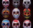 Horror Verkleidung Neu Creepy Latex Party Mask Joker Evil Ghost Scary Halloween