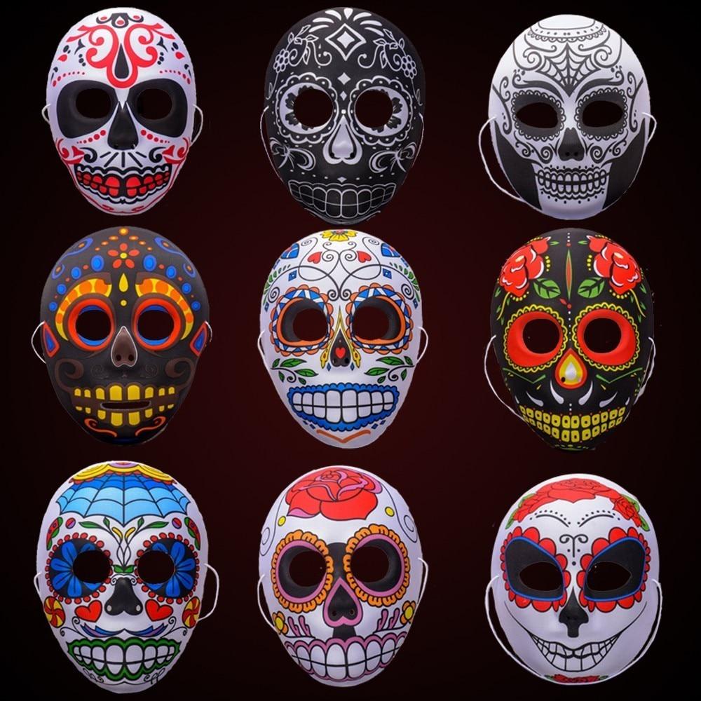 eva cadlar bayram kafatas maskesi boyal pekin opera maske tam yuez parti yetiskin cocuk teroer muhtesem malzemeleri hayalet maskeli guen oelue
