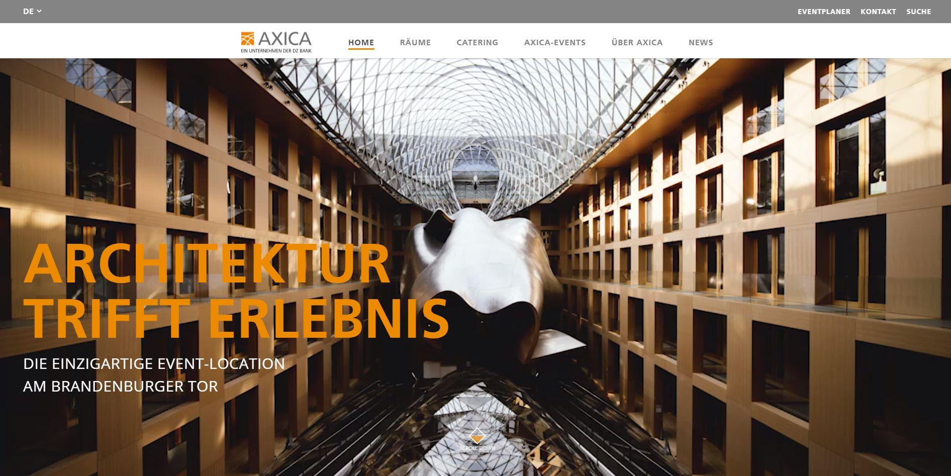 AXICA Startseite JPG