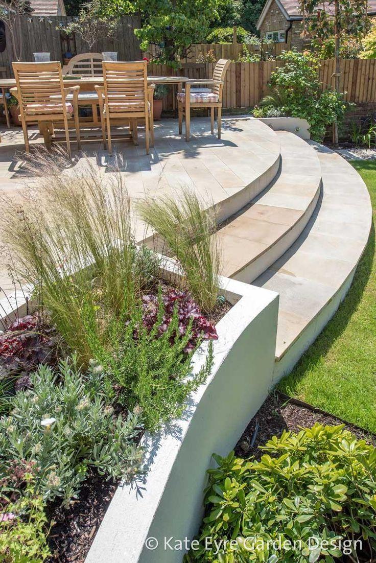 Ideen Garten Luxus Mittelgroße Gartengestaltung In Wandsworth 2 Garten