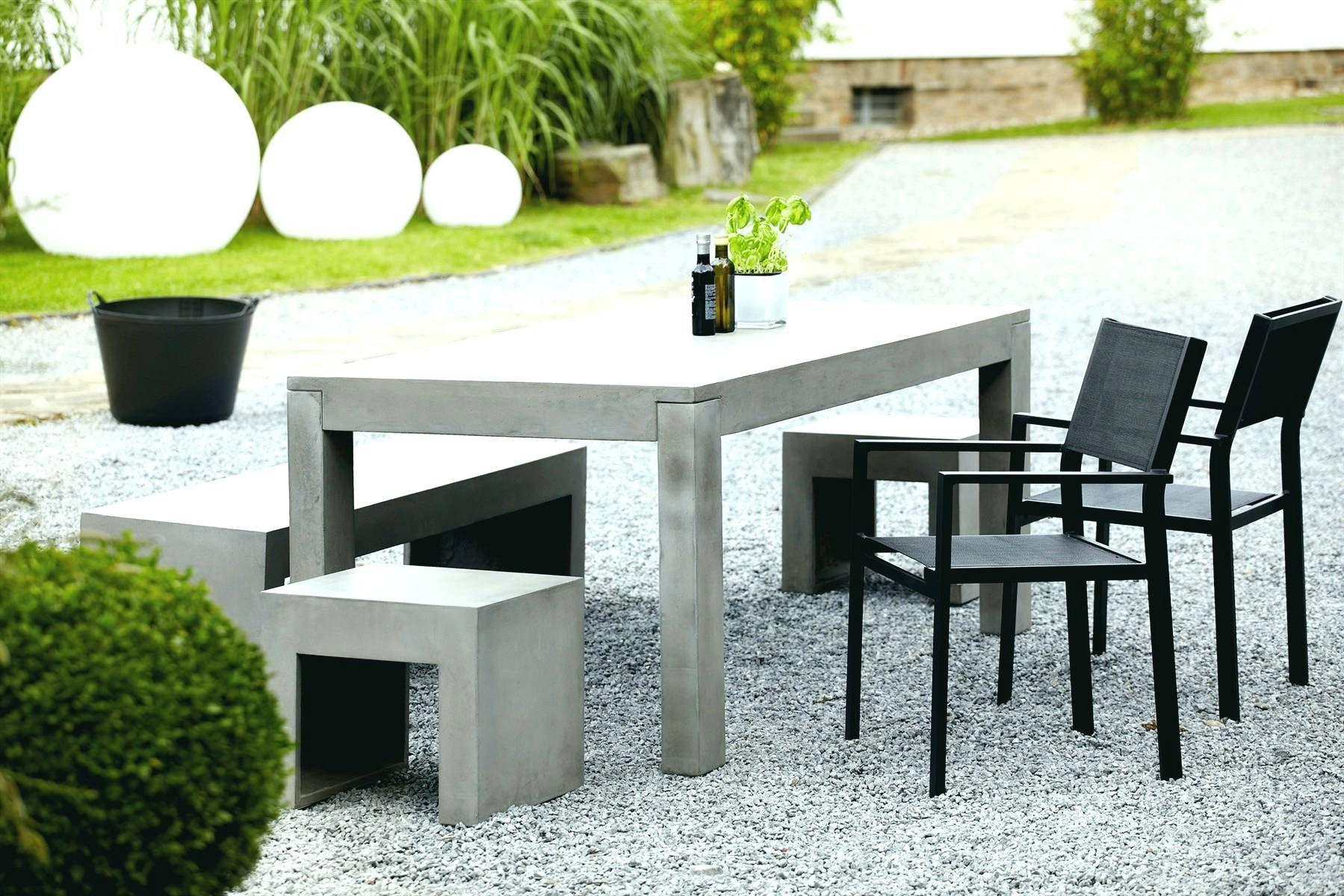 Ideen Garten Schön Terrassen Tisch Und Stühle Beton Tisch Garten Ideen