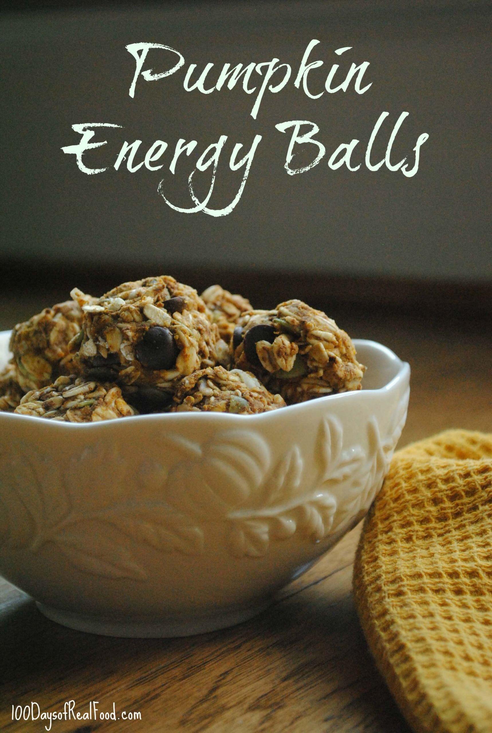 Pumpkin Energy Balls for post