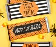 Ideen Halloween Party Luxus Free Printable Halloween Candy Bar Wrappers Happiness is