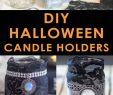 Ideen Halloween Party Neu Halloween Candle Holder Creative Painting Ideas Diy Logo