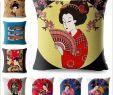Japan Garten Deko Einzigartig Inneneinrichtung & Dekoration Japan Flag Cushion Cover 100