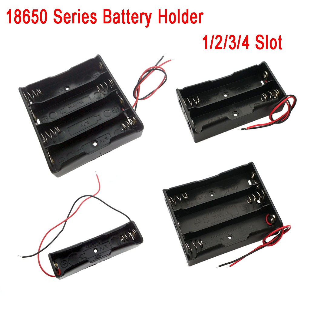 1Pcs font b Battery b font Storage font b Box b font Case DIY 1