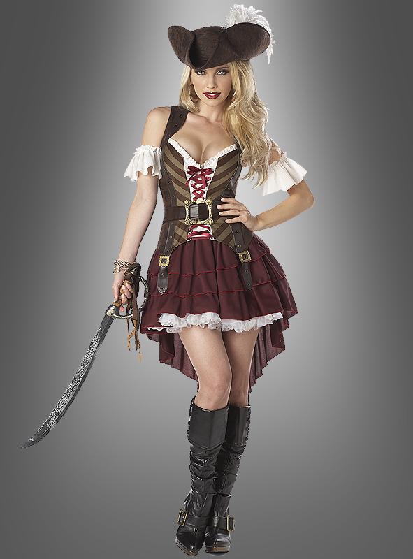 Karnevalskostüme Frauen Inspirierend Piratenkostüm Damen Piratin Bei Kostuempalast