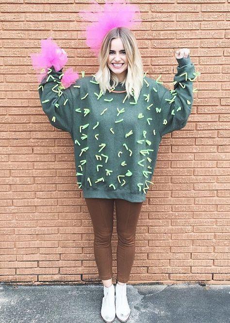 Karnevalskostüme Ideen Schön Kaktus Kostüm Selber Machen Kostüme