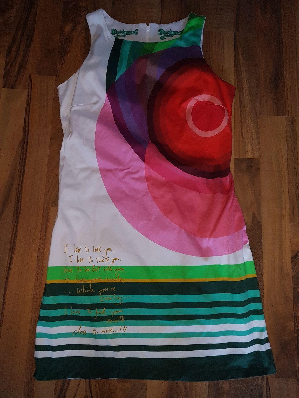 Desigual Kleid Gr L neuwertig Etuikleid