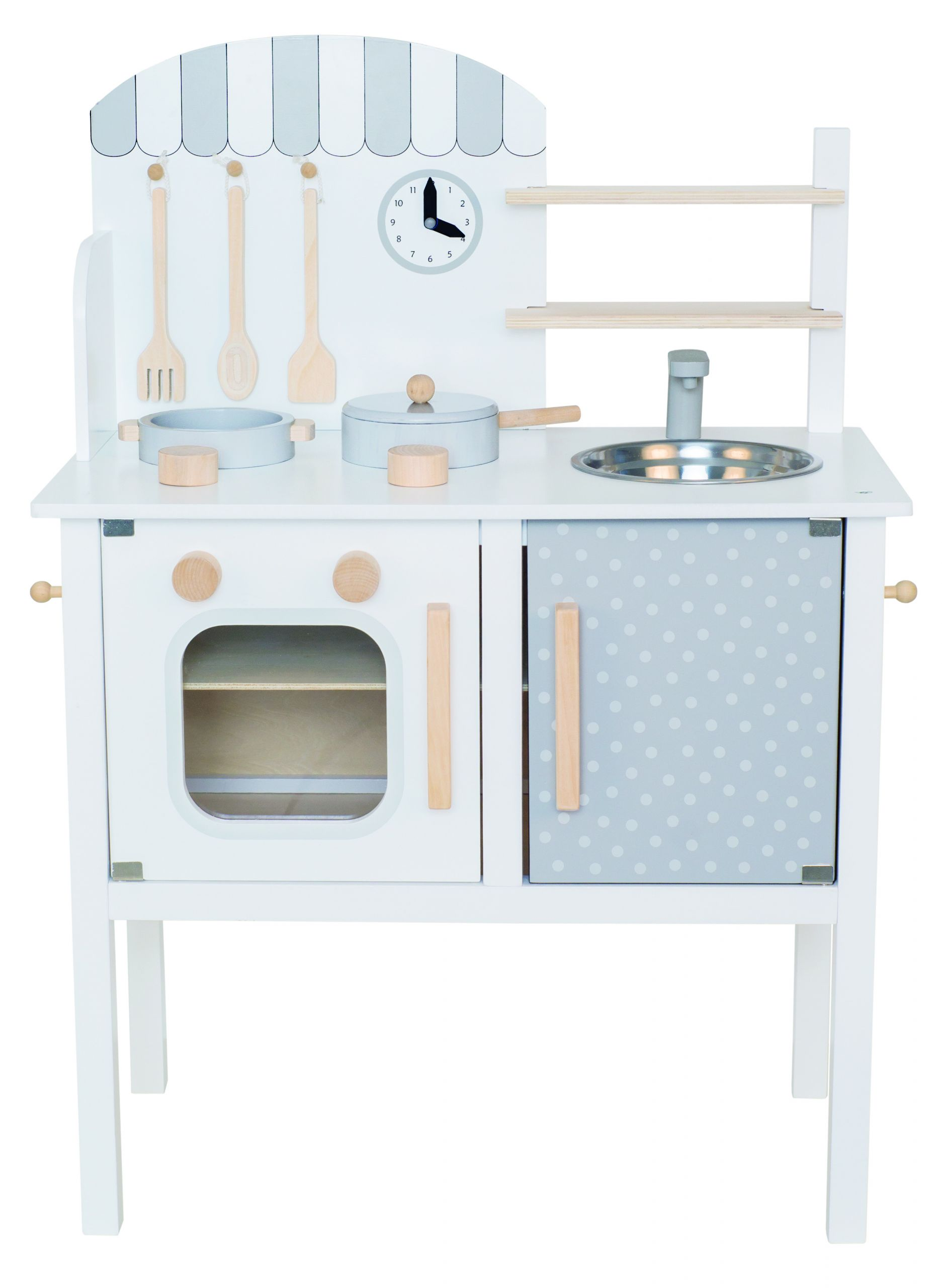 W7125 Kitchen with pot pan white