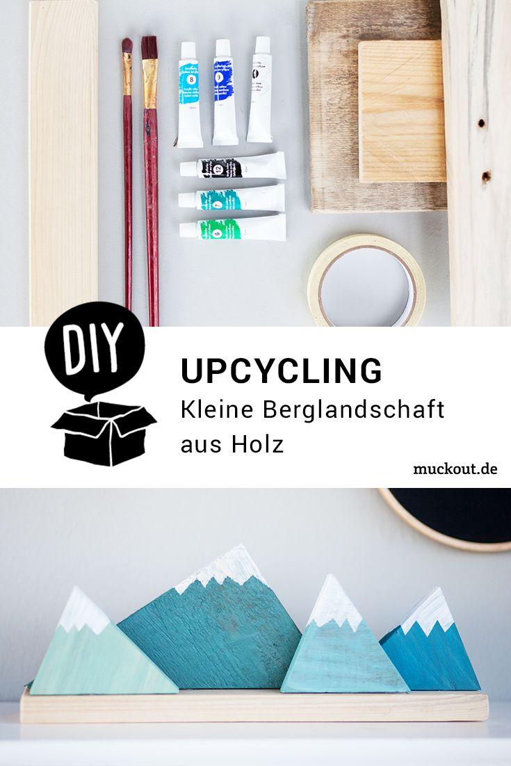 Kleine Sachen Aus Holz Selber Bauen Schön Diy Idee Kleine Berglandschaft Aus Holz – Kinderzimmer Deko