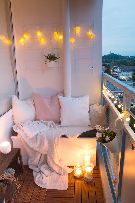 Kleinen Balkon Gestalten Inspirierend Diy Sitzbox & Tipps Für Einen Gemütlichen Balkon