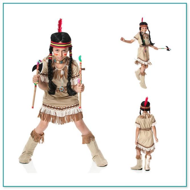 indianer kostum nahen