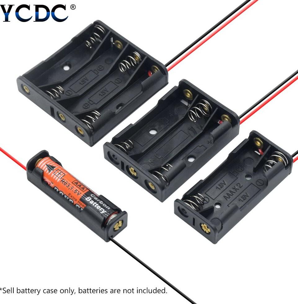 1x 2x 3x 4x AAA font b Battery b font font b Box b font Case