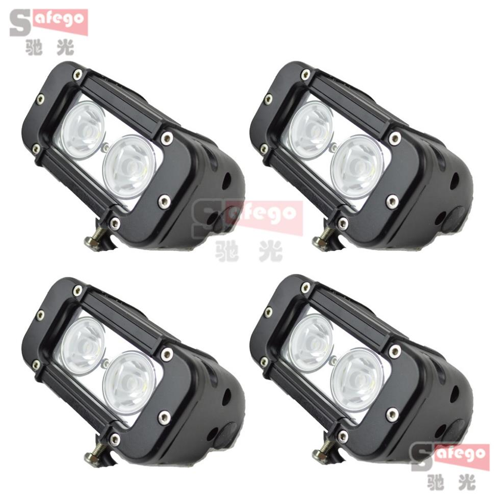 10pcs 5 Inch 20W LED Light Bar for work Light for Tractor Boat fRoad Truck Trailer
