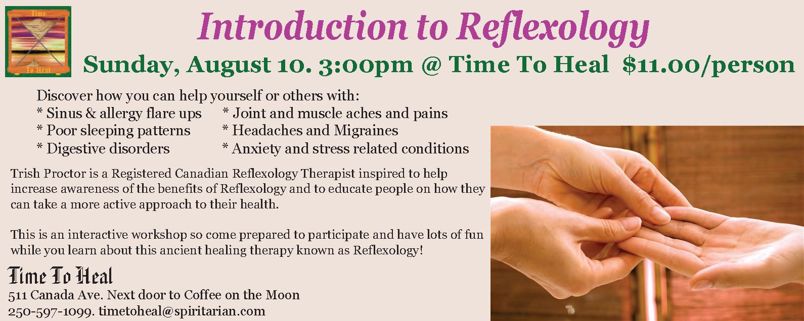 reflexology email
