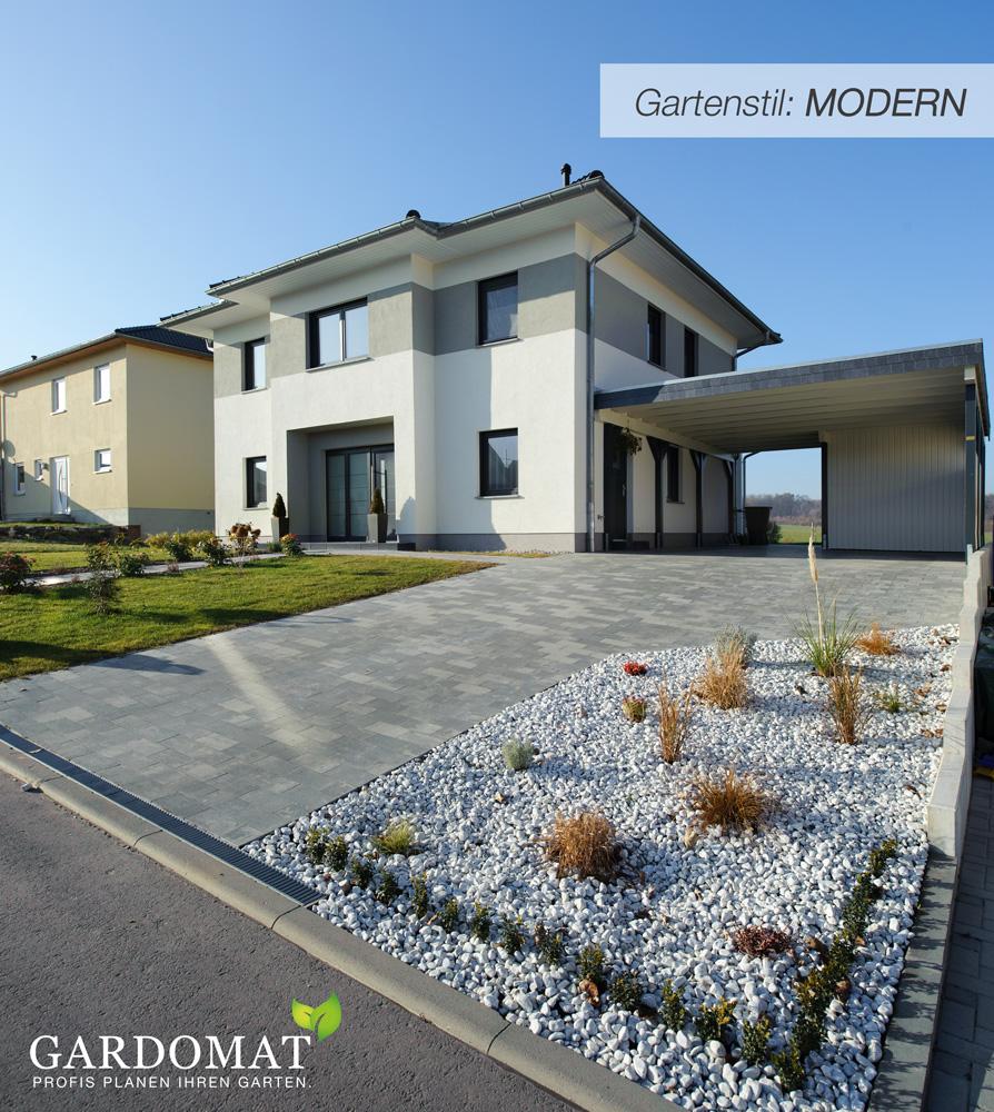 Einstieg Gartenstil MODERN