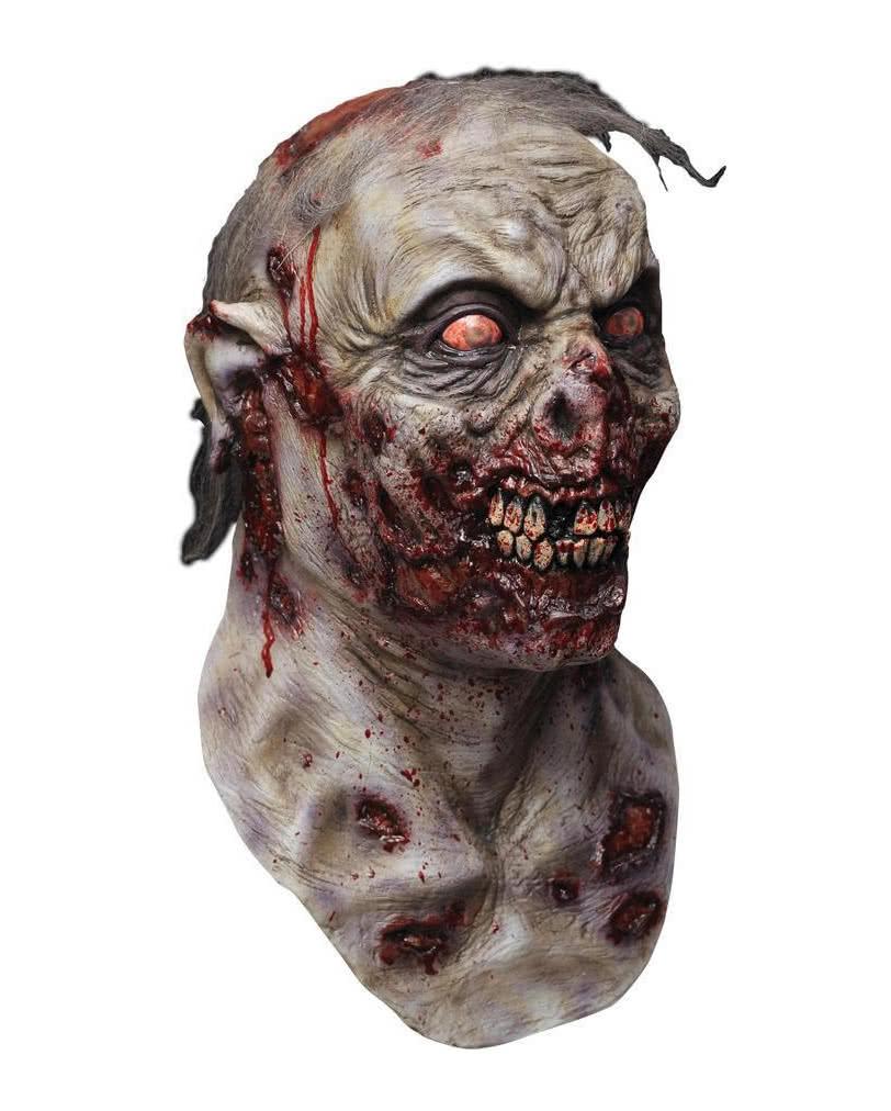 infizierter zombie maske