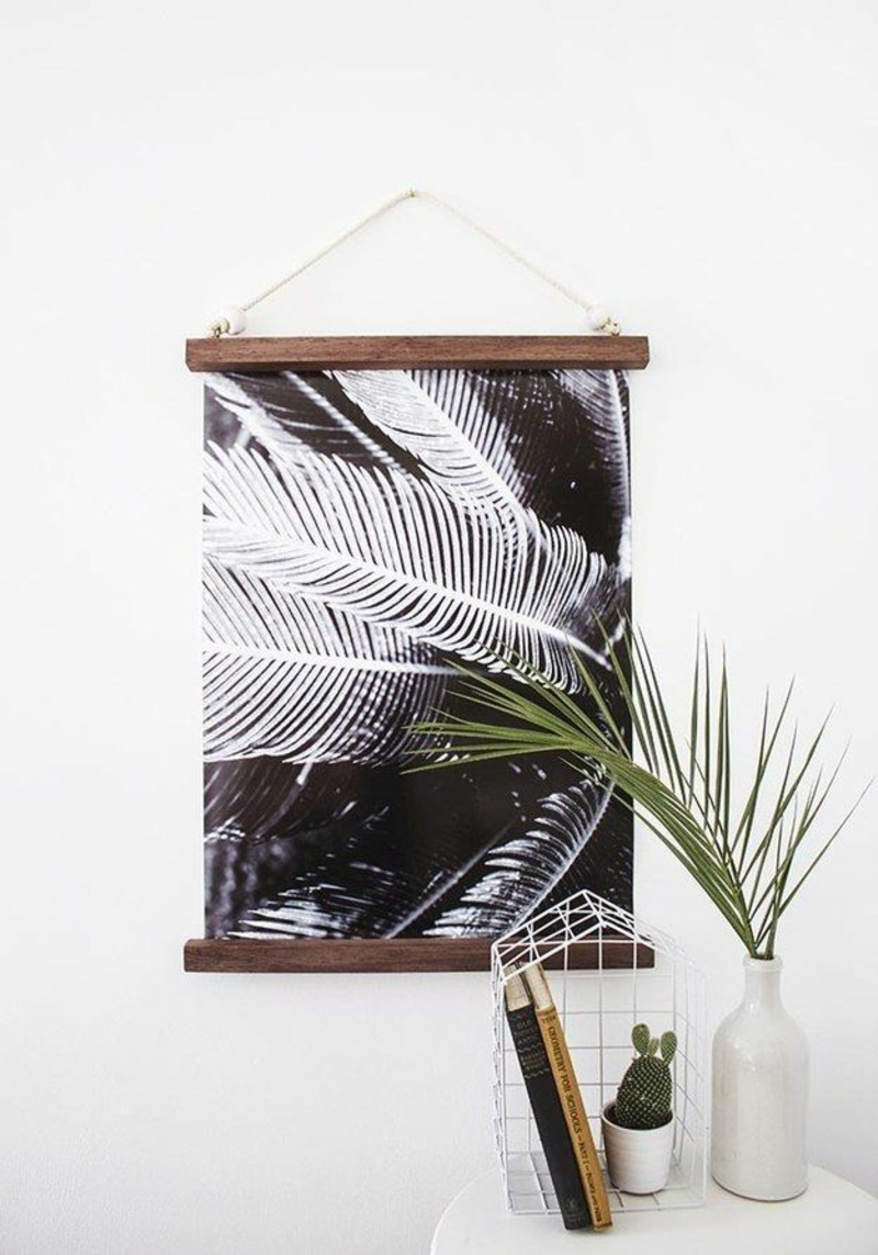 Ideen für moderne Wandgestaltung Wandteppich Deko Ideen