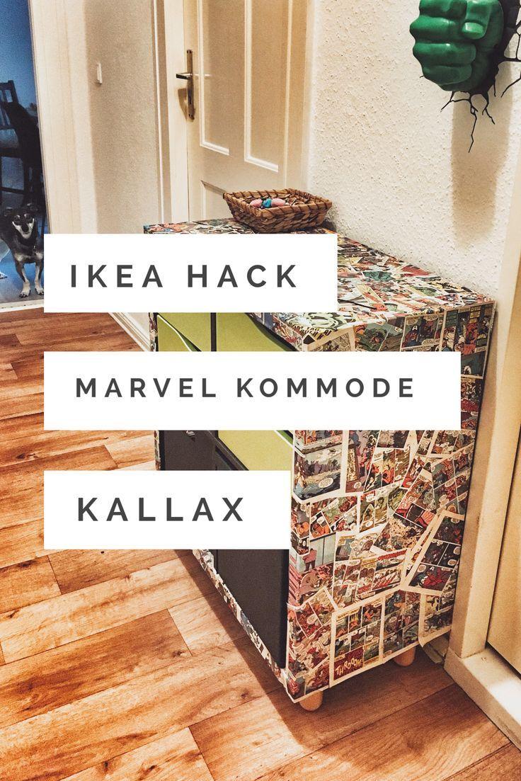 Kreative Wohnideen Selbst Gemacht Neu Ikea Hack Kallax Upcycling – Marvel Ic Kommode Ic