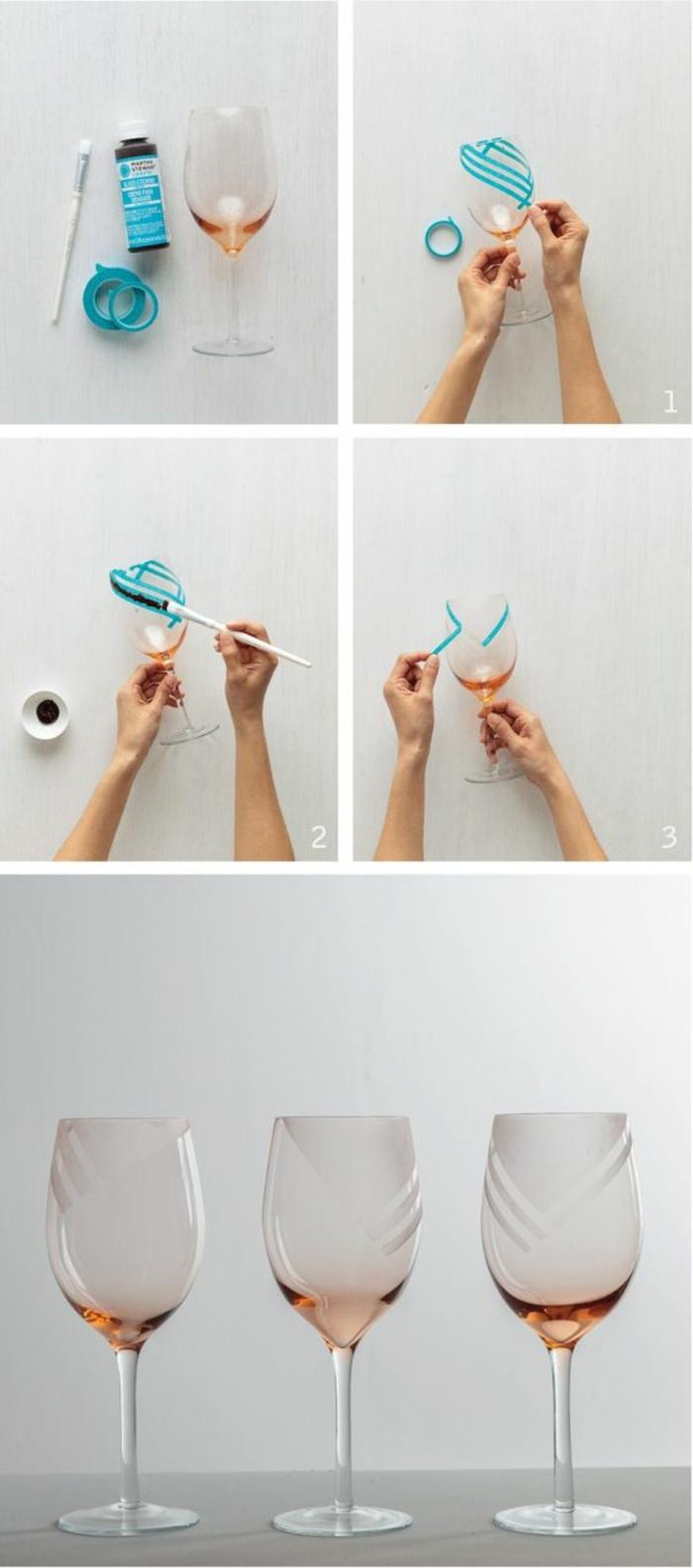 7 weingl C3 A4ser dekorieren klebeband washi tape pinsel gl C3 A4ser verzieren gl C3 A4serdeko e