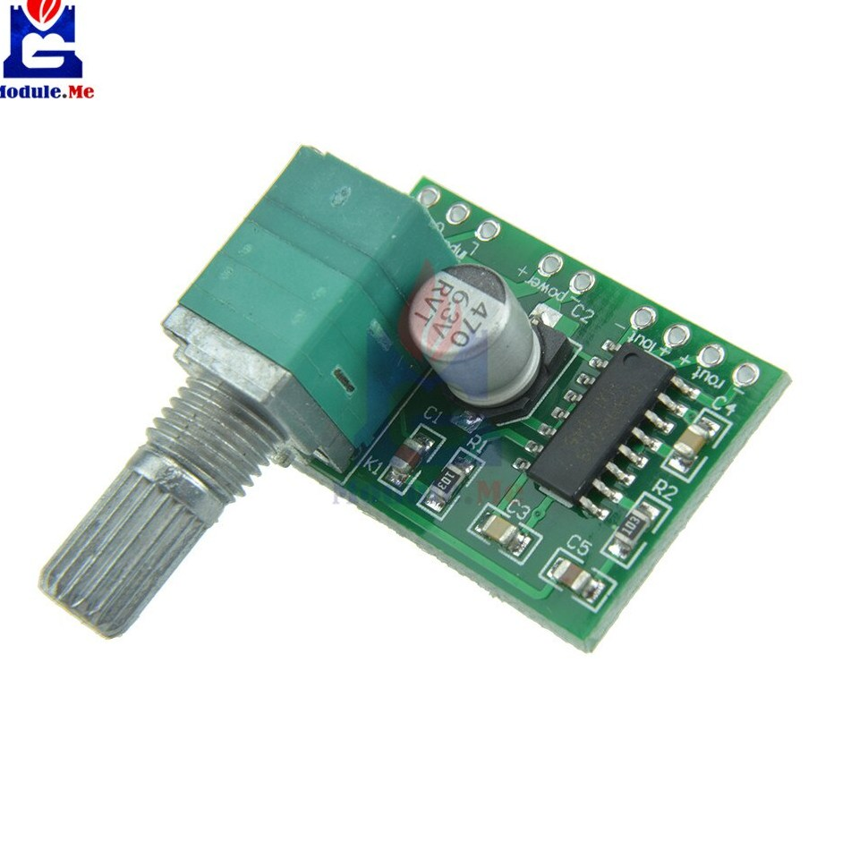 2PCS Super Mini PAM8403 DC 5V font b 2 b font Channel USB Digital Audio Amplifier