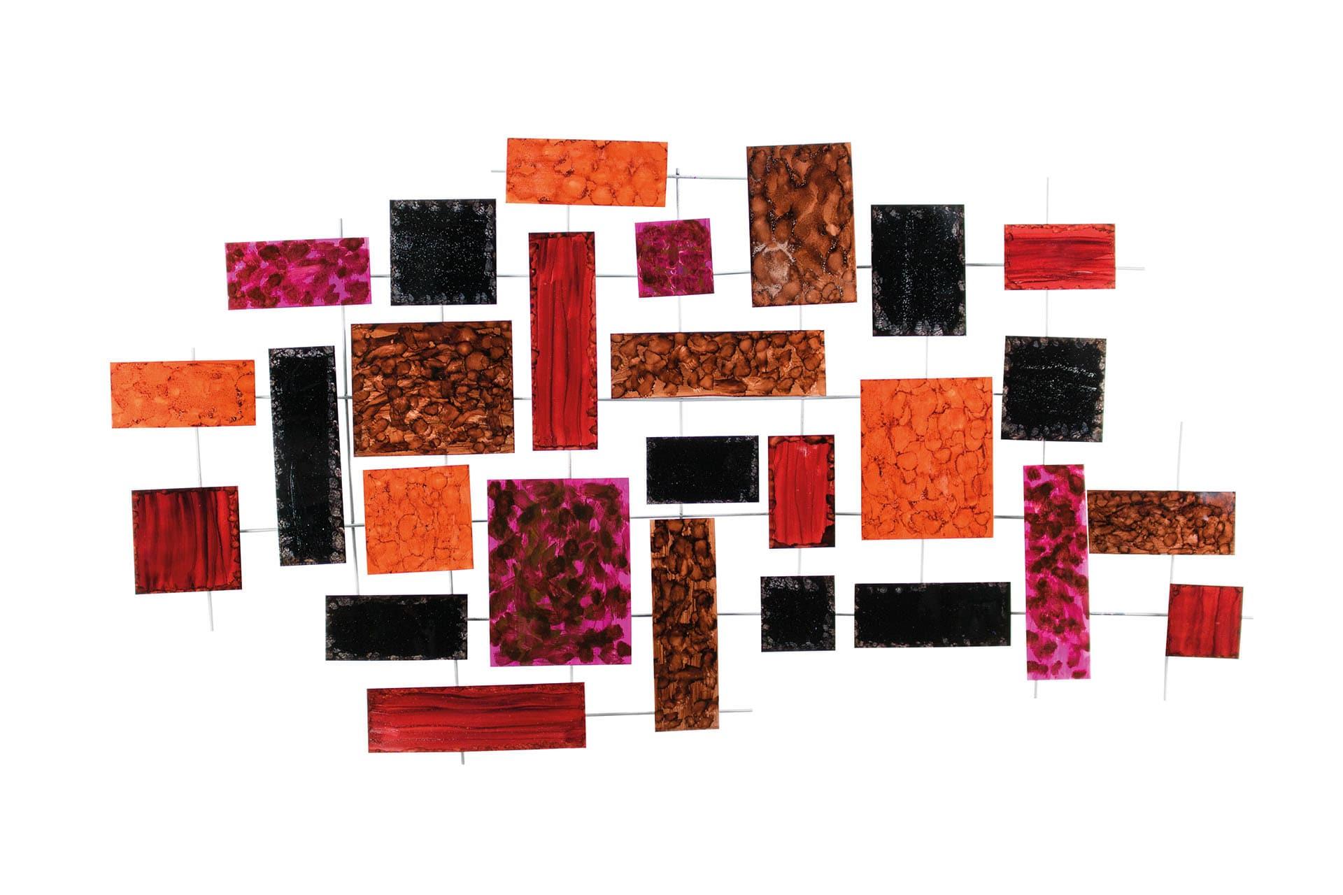 kl rechtecke ecke bunt abstrakt modern modern deko wandskulpturen 01