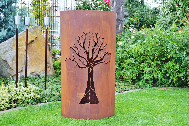 Metallfiguren Garten Rost Luxus Rost Garten