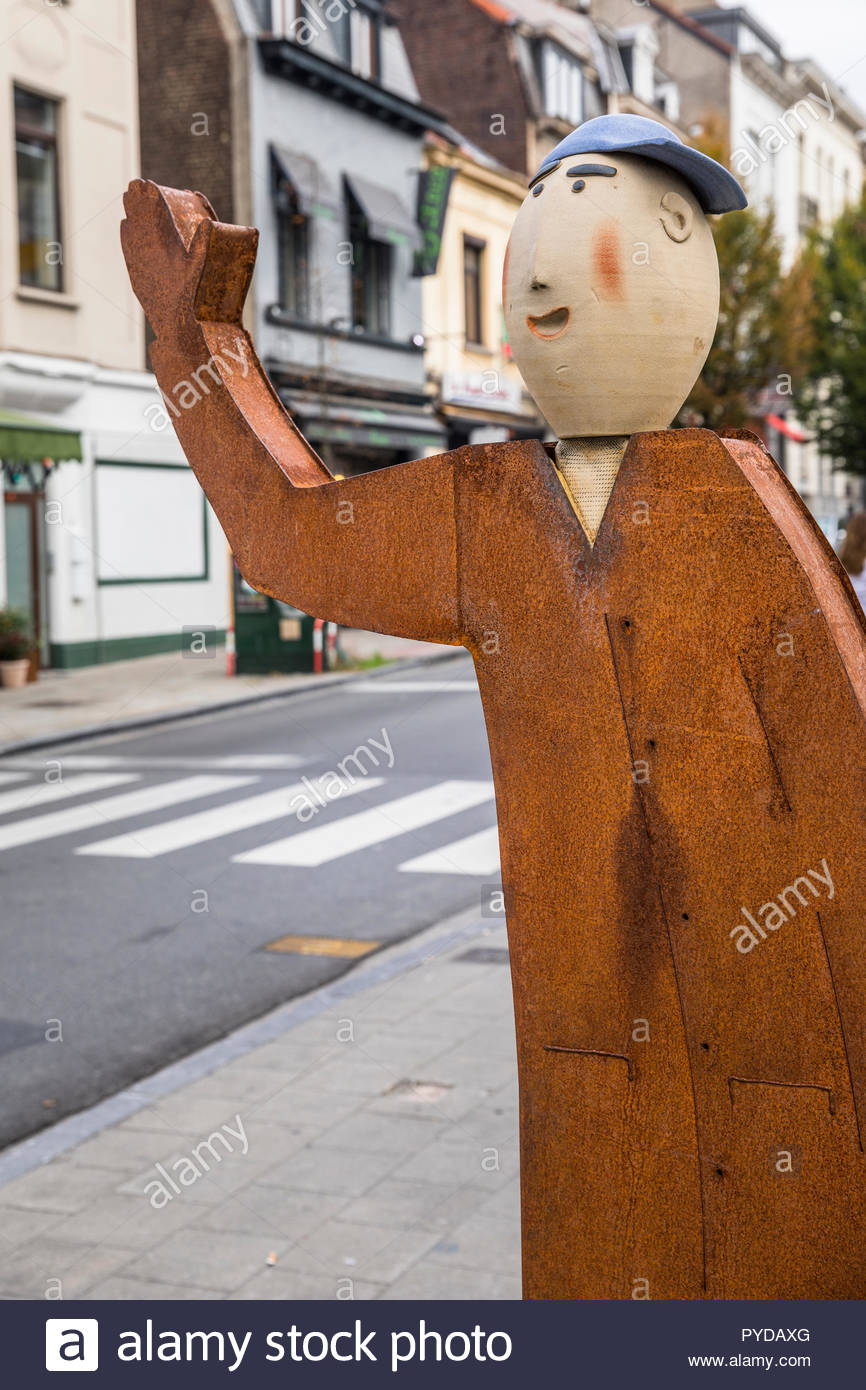 brussels statue of european citizens by susanne boerner PYDAXG