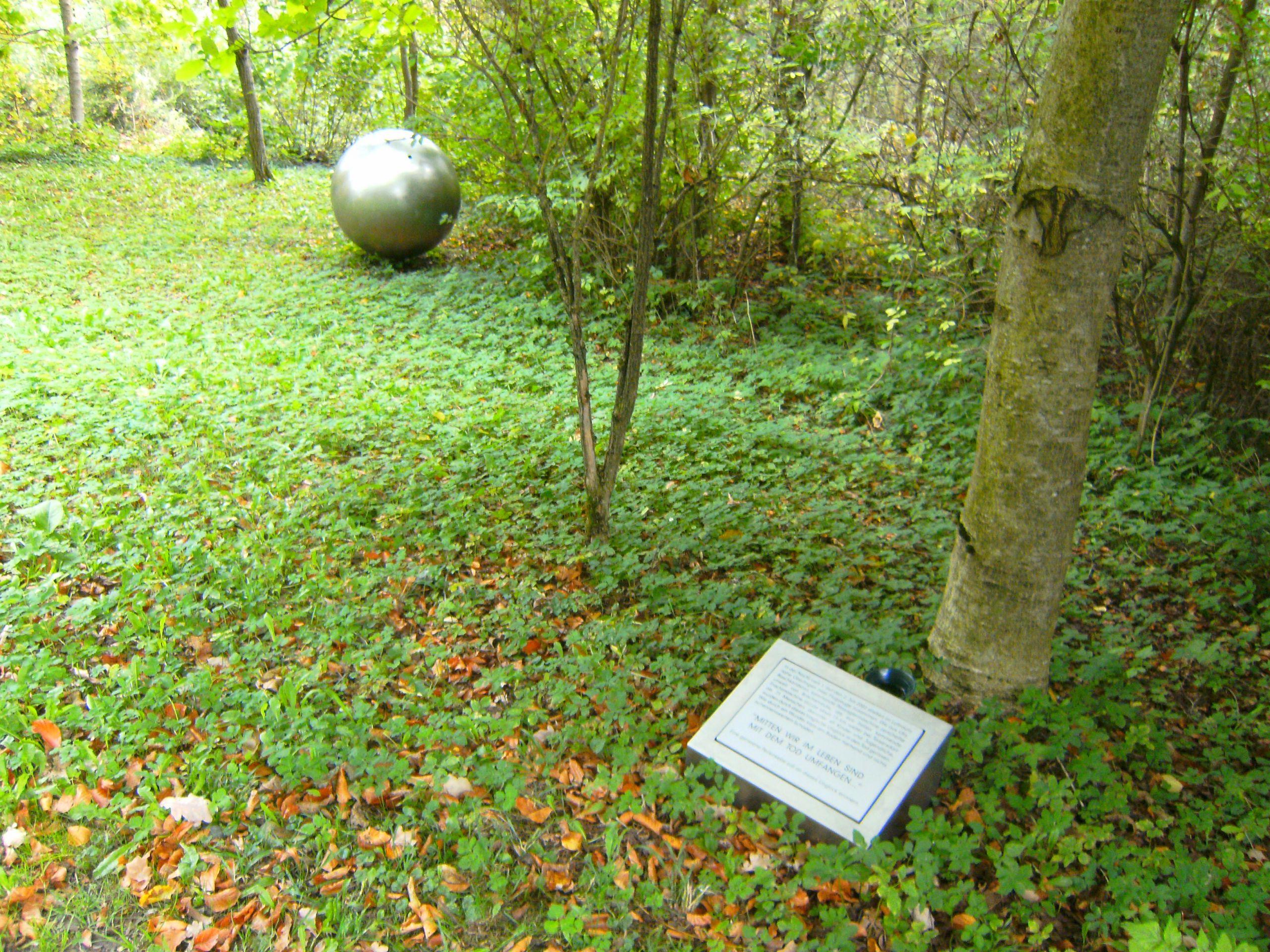 Metallkugel Garten Schön File Flugzeugkollision überlingen Erinnerungstafel Kugel