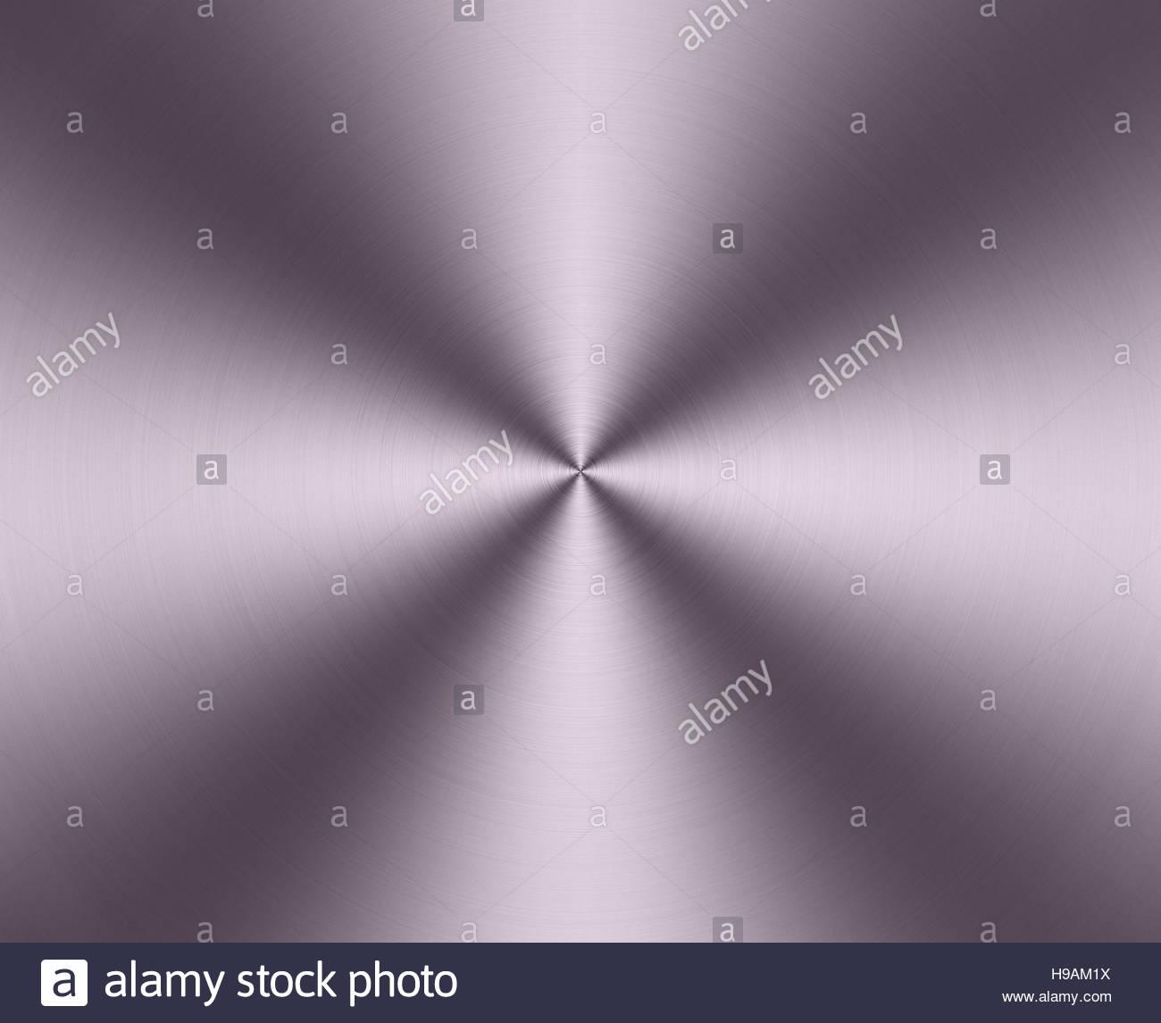 rundschreiben aus geburstetem metall platte textur hell glanzende zusammenfassung hintergrund h9am1x