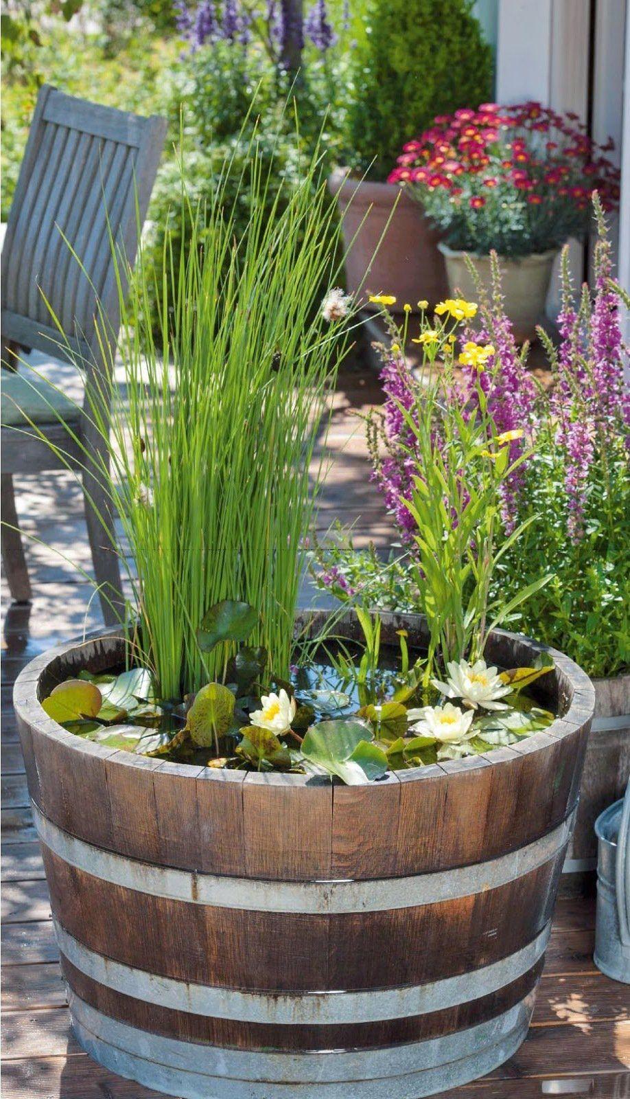 Mini Garten Selber Machen Schön Diy Mini Teich Im topf Und Noch Viele tolle Gartenideen Für