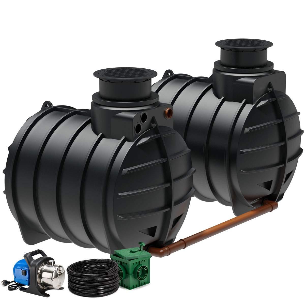 pumpe garten neu regenwasseranlage aqa line 8900 liter garten of pumpe garten