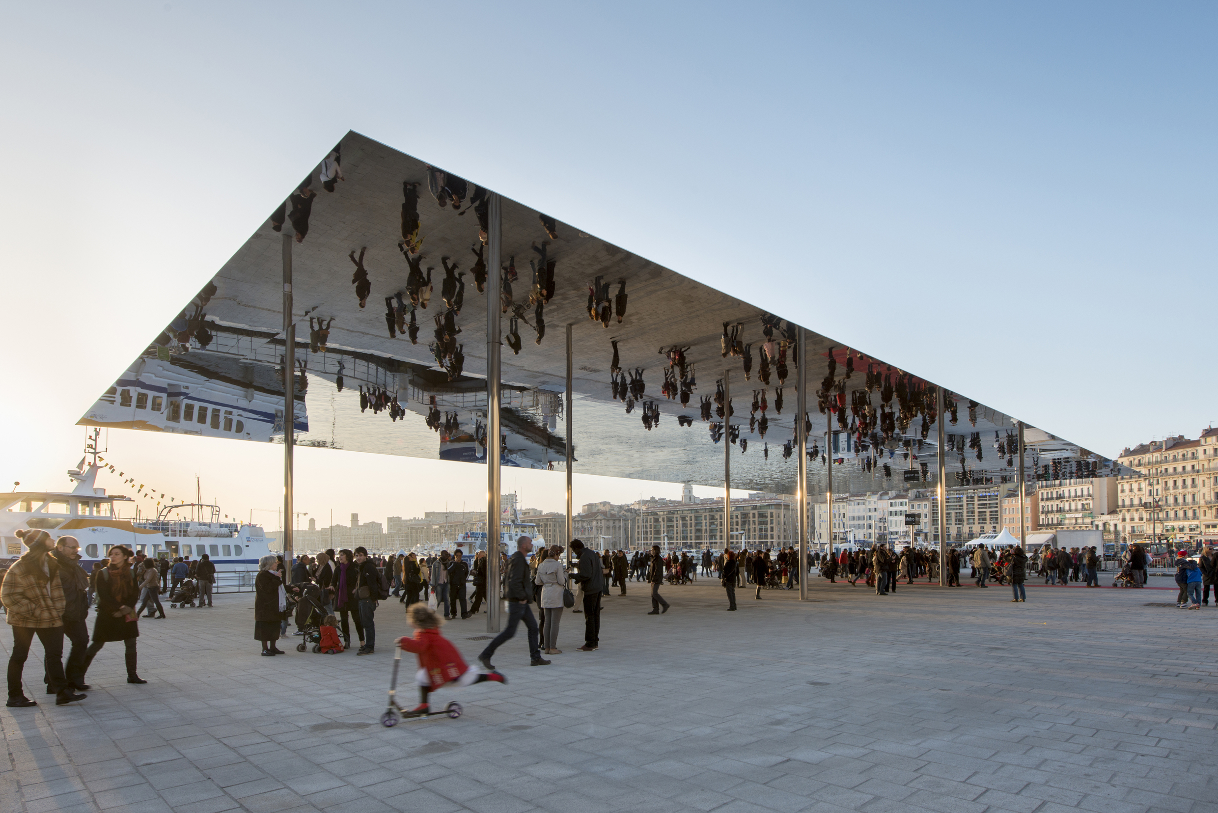Topos Urban Space Prize Marseille Young Foster Partners