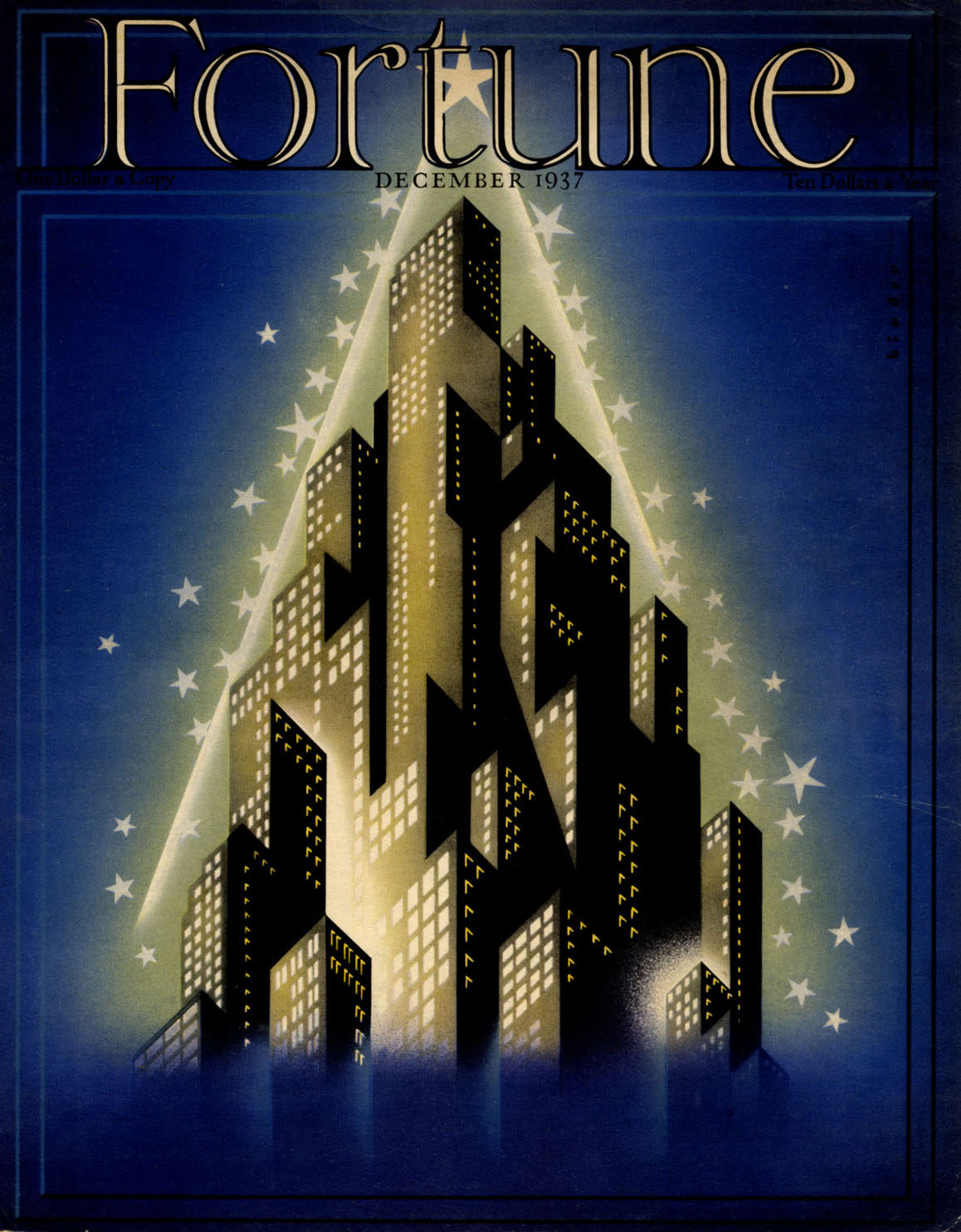 fortune magazine cover joseph binder