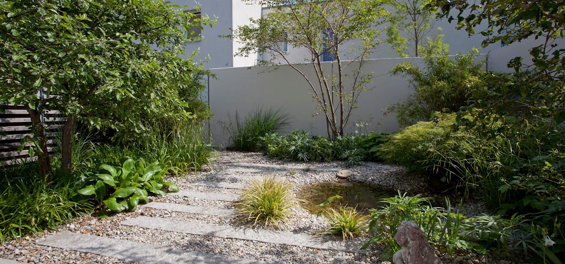 modern garden photos by blumen garten