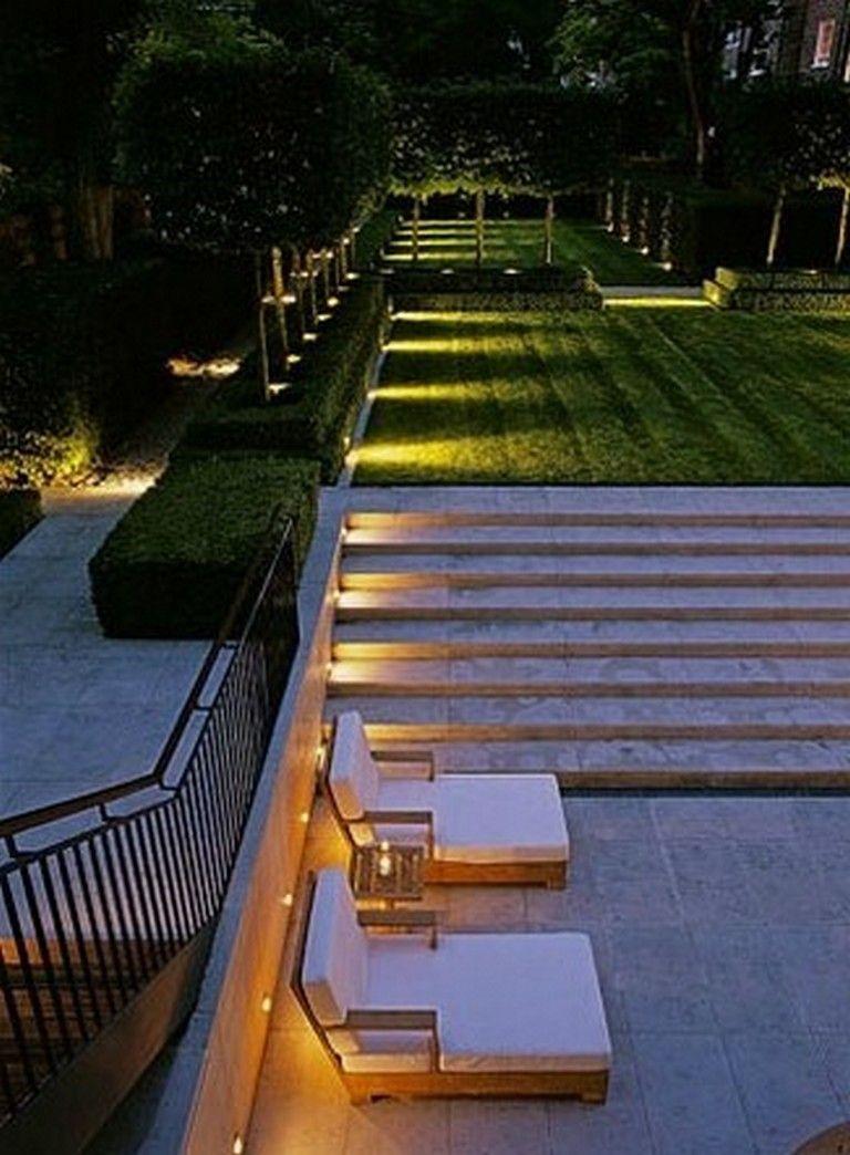 Moderne Terrassengestaltung Elegant 79 Incredible Modern Garden Lighting Ideas Garden
