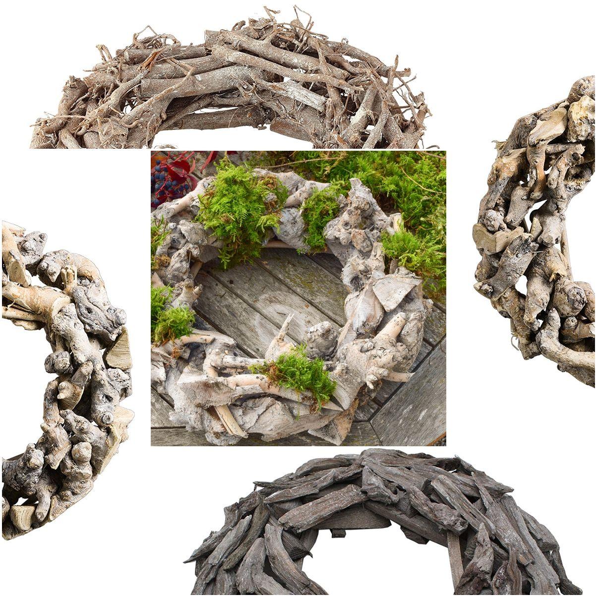 Naturdeko Holz Luxus Holzkranz Dekorieren Deko Kranz Aus Holz Finden Tipps Und