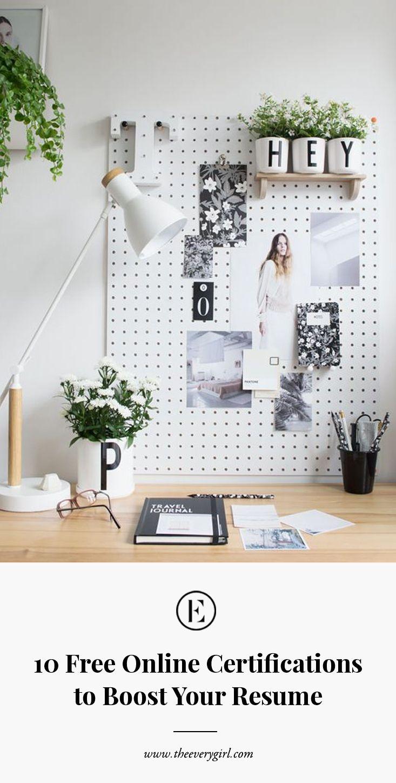 Online Deko Schön 10 Free Line Certifications to Boost Your Resume
