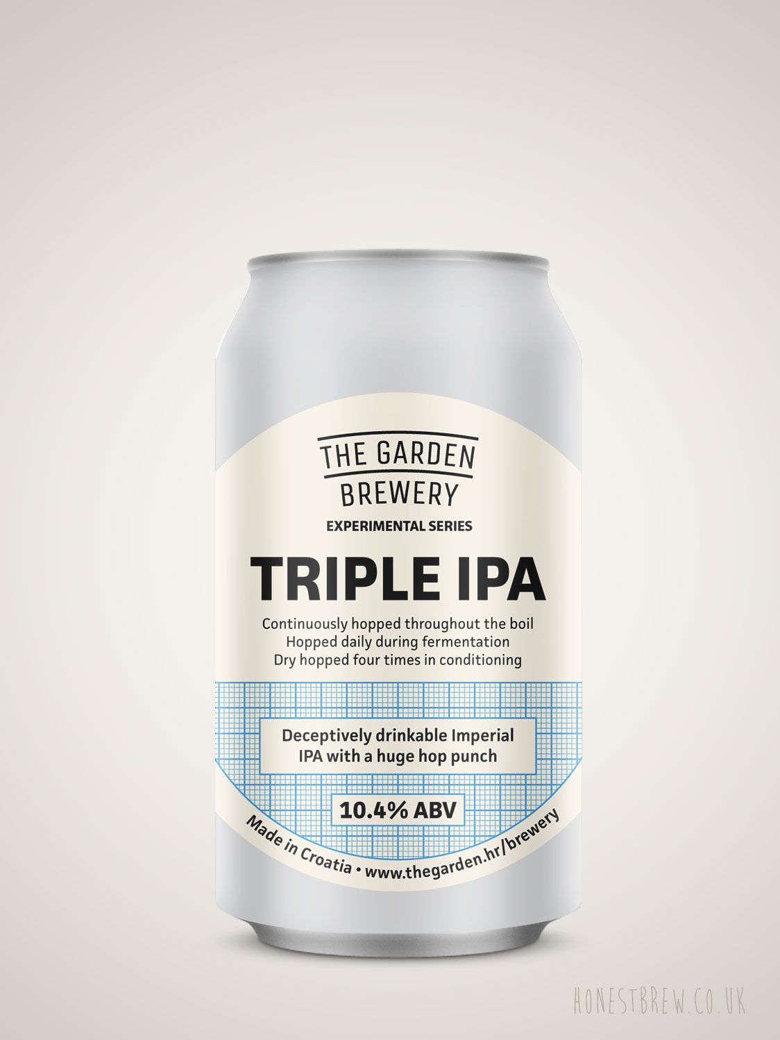 The Garden Brewery Triple IPA 10 2 Can 330ml