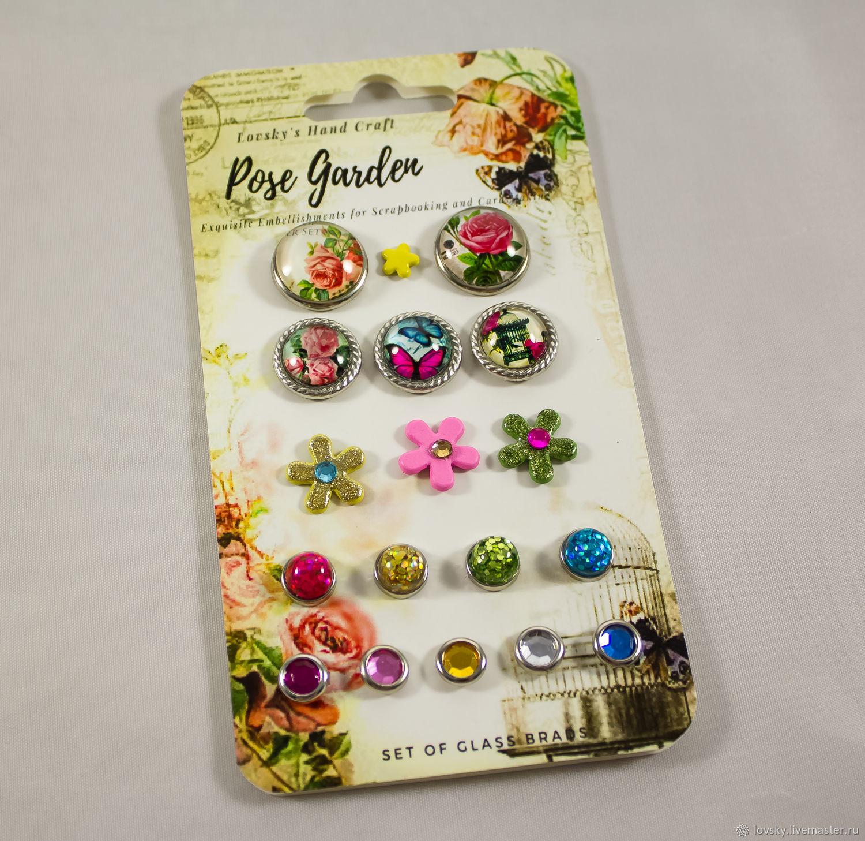 3a74cff18bba96a096a4aef60b26 manufacture set brads rose garden