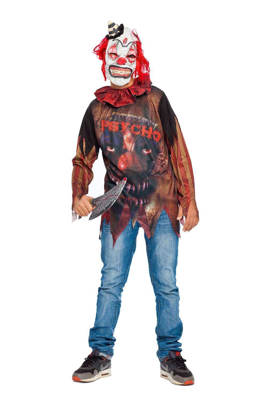 halloween clown kostum