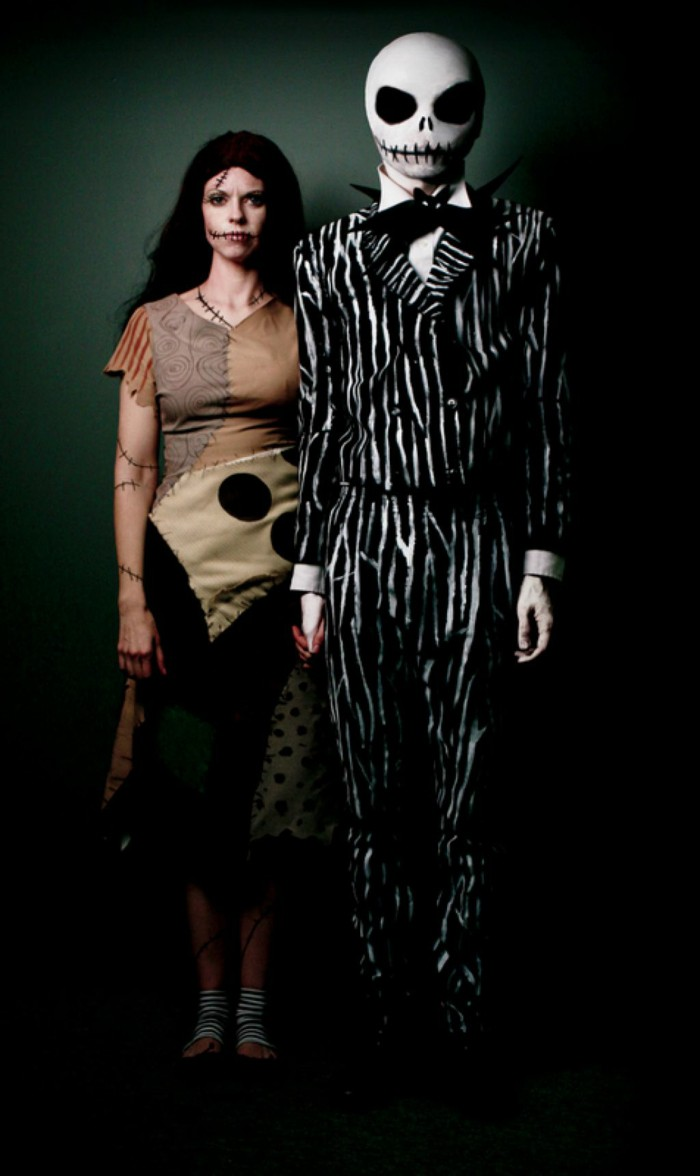 creepy partner costumes for halloween