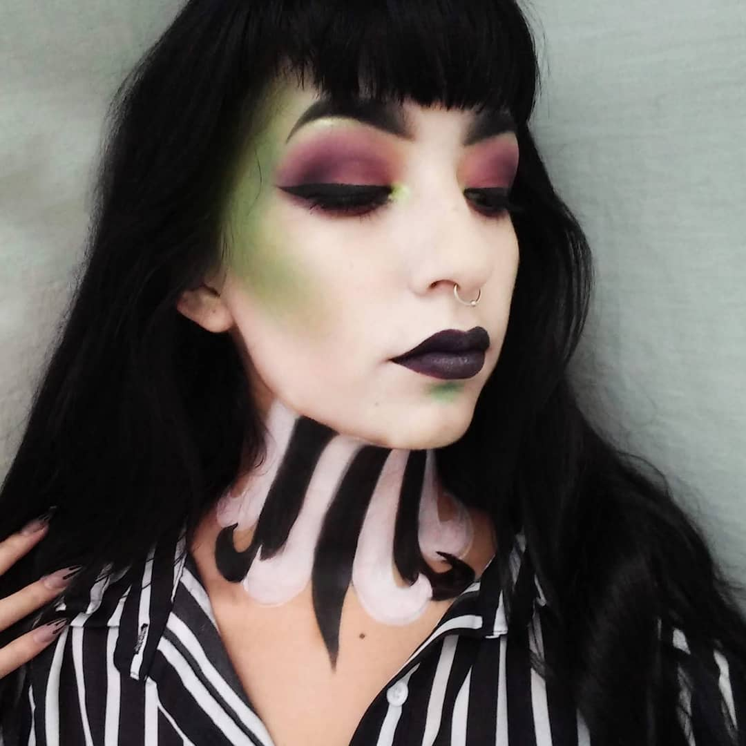 68 scary halloween makeup ideas creep friends halloween party