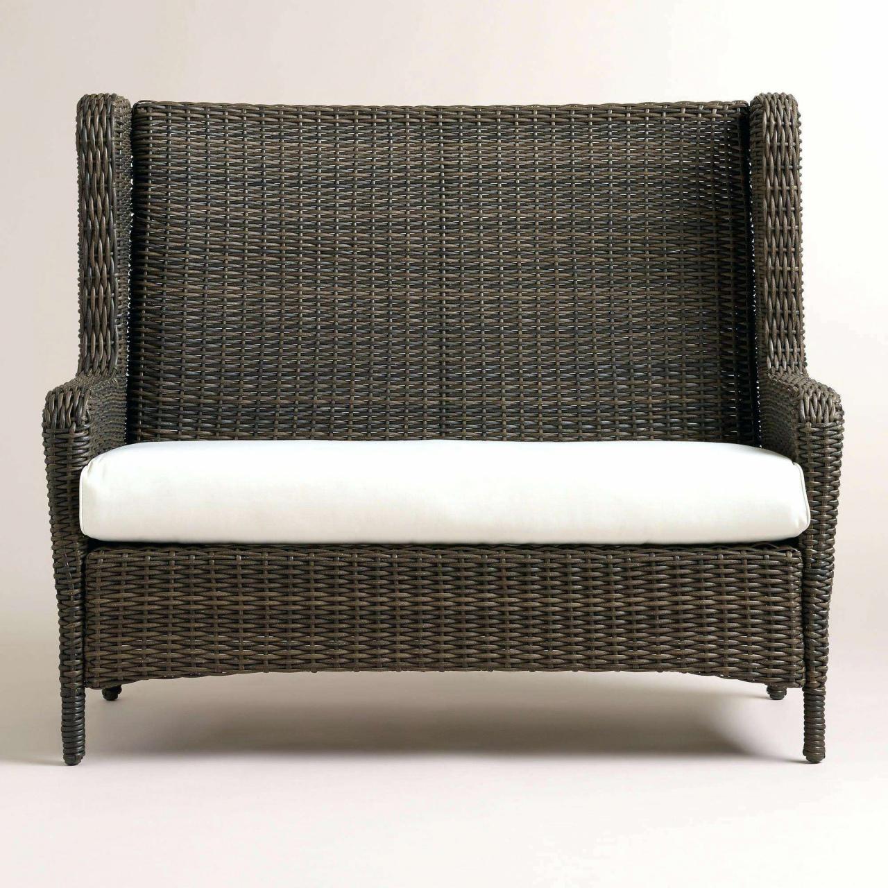 gravel patio rattan sofa garten luxus recliner wicker outdoor sofa 0d patio durch gravel patio