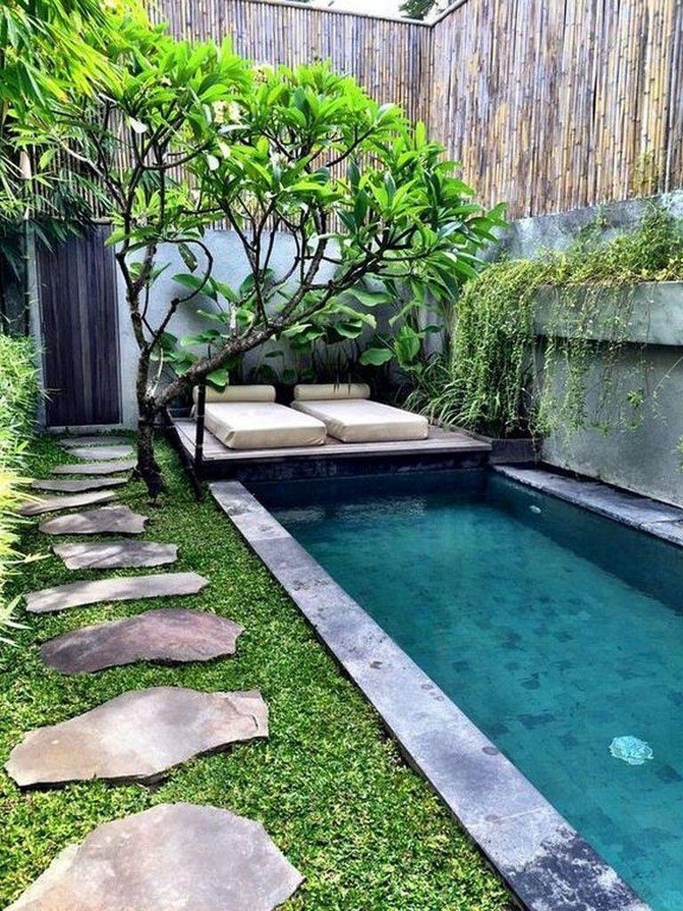 Pool Garten Gestaltung Best Of 36 Beautiful Mini Pool Garden Designs for Tiny House Pool