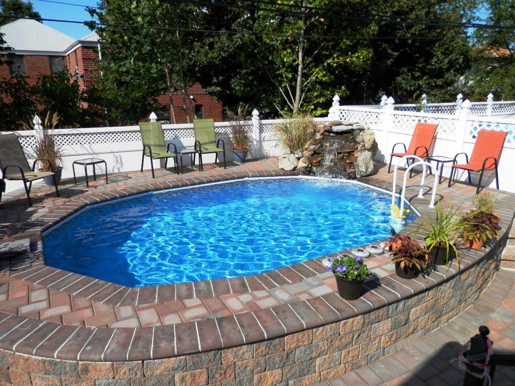 Pool Garten Gestaltung Neu Semi Pool Design Yescarnovations2019