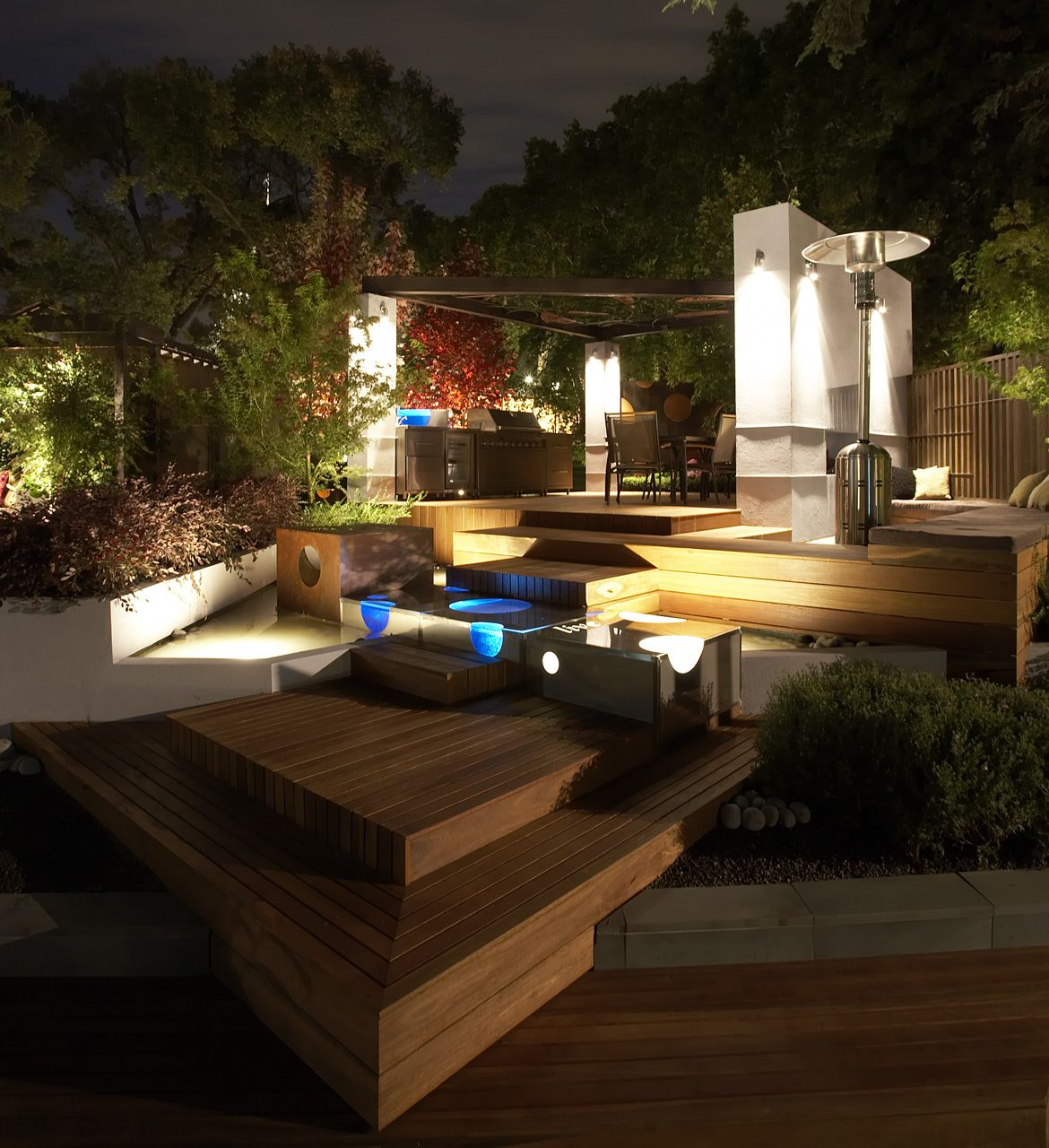 Pool Garten Gestaltung Schön A Modern Garden Deck