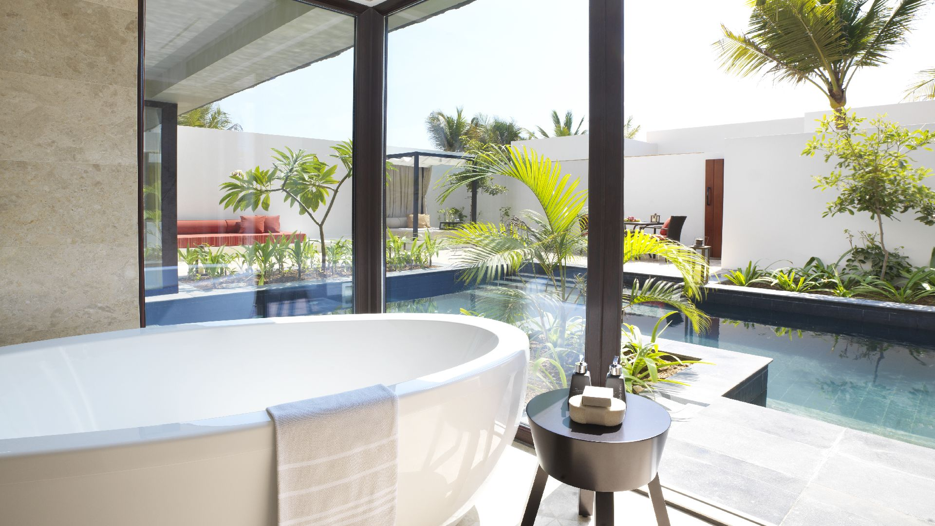 Pool Garten Gestaltung Schön E Bedroom Garden View Pool Villa Bathroom the Luxe
