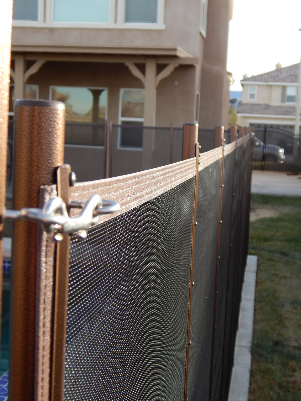 life saver pool fence this pool fence in lancaster ca has the exclusive life saver pool durch life saver pool fence